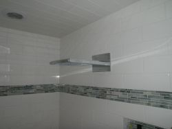 Shower faucet with style