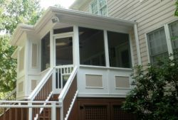 Screen porch addition Wake Forest