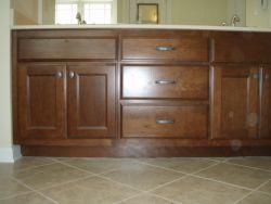 Vanity and tile bath update