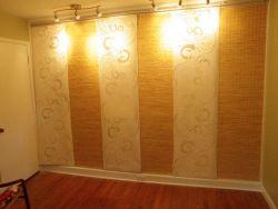 Custom closet wall