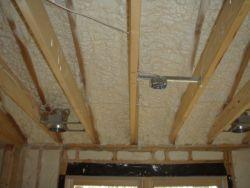 Sprayed-in insulation