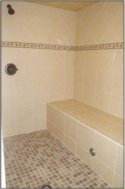 Steam shower remodel