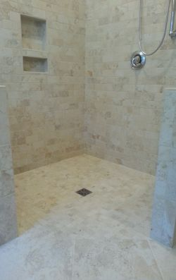 Accessible and beautiful shower