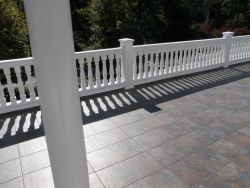 Balcony tile in Raleigh