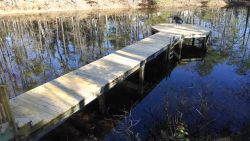 Dock at pond