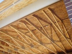 Trusses in whole-house remodel