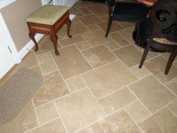 New tile for kitchen & living area
