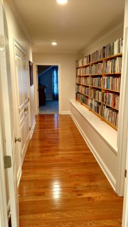 Hallway to literature